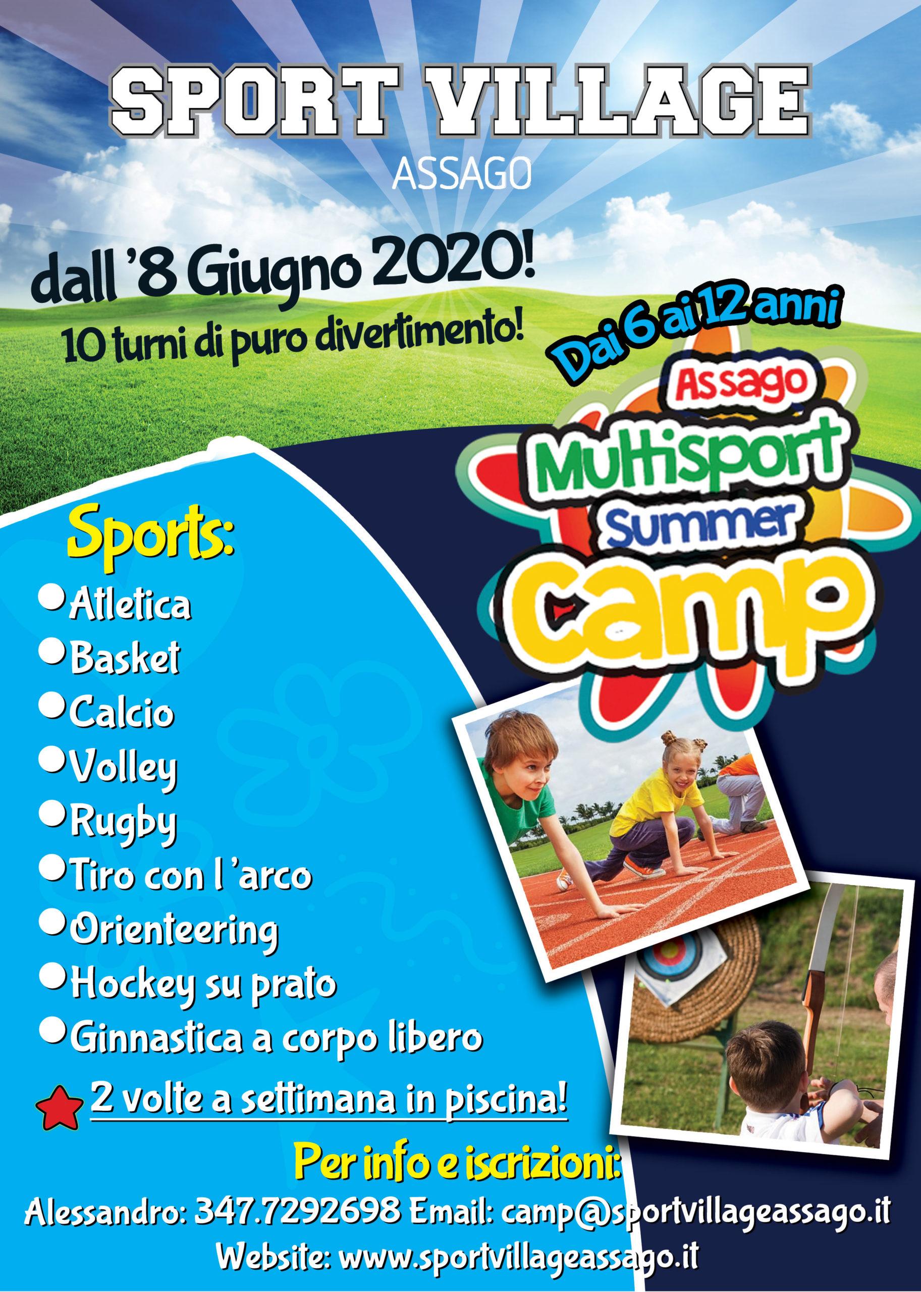 Iscriviti ora al Multisport Summer Camp 2020