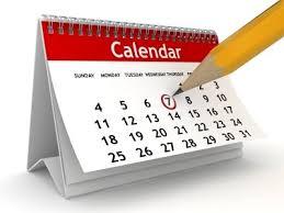 Calendario Sportivo 2020 – 2021